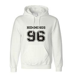 Luke Hemmings 96 Hoodie 5SOS Classic Hoodie Men Women Jacket