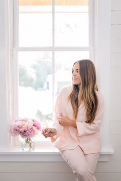 Gal Meets Glam 11 Products For Glowing Skin - Sleepy Jones Blush Pajama set