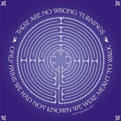 there are no wrong turnings, only paths we had not known we were meant to walk… Labyrinth Garden, Labyrinth Maze, Labyrinth Quotes, Walking Meditation, Meditation Music, Prayer Garden, Labrynth, Ancient Symbols, Spiritual Practices
