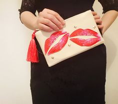 Shop for on Etsy, the place to express your creativity through the buying and selling of handmade and vintage goods. Leather Bag, Clutches, My Etsy Shop, Check, Handmade, Bags, Stuff To Buy, Vintage, Shopping