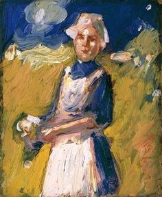 John Duncan Fergusson Girl in a Field - The Largest Art reproductions Center In Our website. Low Wholesale Prices Great Pricing Quality Hand paintings for sale Champs, John Duncan, Louvre, Vintage Artwork, Art Uk, Large Art, Your Paintings, Matisse, Art Reproductions