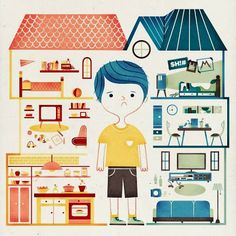 Bruno Bettelheim No hay padres perfectos.ilustración: Sol Linero http://unadelosantiguosninos.blogspot.com.es/2014/04/esencia-de-la-propiedad-del-nino-bruno.html