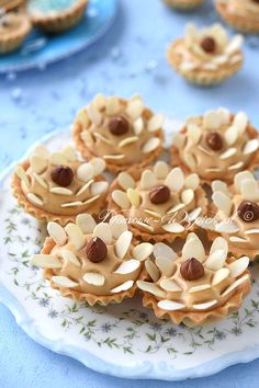 Easter Recipes, Dessert Recipes, Polish Recipes, Mini Cakes, Cake Cookies, Cupcakes, Finger Foods, Afternoon Tea, Minis