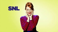 Saturday Night Live: Emma Stone #SNL