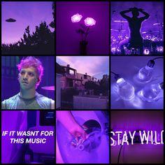 Josh Dun purple moodboard (my edit)