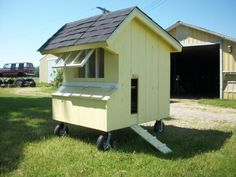 Pallet Ideas Recycled Mobile Chicken Coop