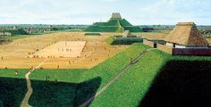 CHAMPAIGN, ILLINOIS—The presence of a ceremonial road running through the center of Cahokia has been confirmed by Sarah Baires of the University of Illinois. She uncovered distinct layers of fill dirt that resembles other monuments at the site. Known as the Rattlesnake Causeway, the elevated earthen road stretches from the Grand Plaza through the center of the city, and ends in Rattlesnake Mound.