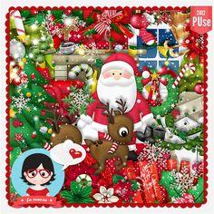 Kit - Feliz Natal 2012 by Fa Maura