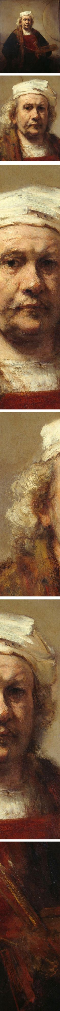 Rembrandt, Self-portrait with Two Circles, c. 1665/1669
