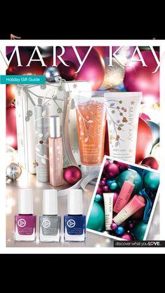 Get holiday ready with Mary Kay. Contact me... Elena.trujillo22@gmail.com  Www.marykay.com/elenat