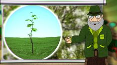 Erdő Ernő Bácsi meséi - Miért vastagodik a fa törzse?