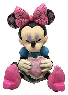 Jim Shore Disney Traditions Mini Minnie Mouse Holding a Heart Figurine 4054285 * Want to know more, click on the image.
