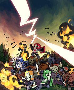 The wonderful characters of castle crashers fandom - Castle crashers anime ...