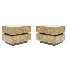 Faux Malachite Custom Lacquer Cabinets