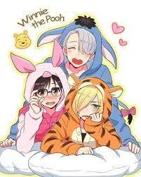 victuuri and yurio (podium family)