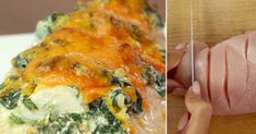 Once you know this chicken breast recipe, you'll never make it again . Breast Recipe, Spanakopita, Quiche, Nom Nom, Recipies, Food And Drink, Cooking Recipes, Ricotta, Chicken