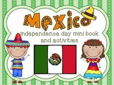 A cute Mexican independence day mini book! It teaches the story of Mexico's independence. Viva Mexico! It has a few activities at the end of it too. Great for a Mexico unit, Spanish class or to teach your children something cultural about Mexico this September 16