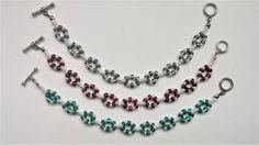3 super easy bracelets great for beginners. Easy beading pattern