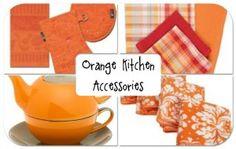 Kitchen Orange Accessories For Decorations Set Samsung Liances Along With Kitchens