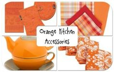 Orange Kitchen Accessories!  http://orangekitchendecor.siterubix.com/orange-kitchen-accessories  Some great resource ideas for orange kitchen stuff.  #ppgorange #seemorereviews