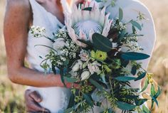 Australian Natives / Michael & Stacie's Byron Bay Hinterland Wedding / Photography by Ameila Fullarton / View Wedding on The LANE