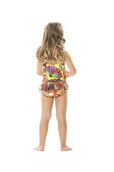Agua Bendita Peras One Piece is one of the cutest swimsuits to come out this season. #onepiece #aguabendita #kidsswimwear