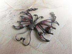 Motýlik... by arokis1 - SAShE.sk - Handmade Prívesky