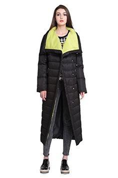 05b082326b4 Women s Winter Quilted Extra Long Trench Down Parka Coat Jacket     Click  image for more details.