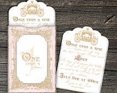 Once Upon a Time Invitation Set of 10. $22.50, via Etsy.