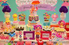 Lalaloopsy Party, Circus Party, Festa Lalallopsy, Festa Circo, Pink Atelie de Festas