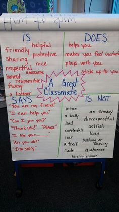 Great first day activity... leads into creating rules!