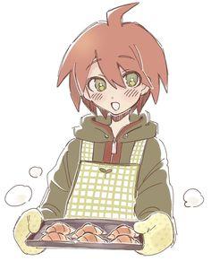 Makoto Naegi, Danganronpa Trigger Happy Havoc, Cute Egg, Danganronpa Game, Light Of My Life, Avatar The Last Airbender, Character Design Inspiration, Me Me Me Anime, Anime Manga