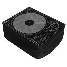 Technics: Turntable Deck Cover - Black