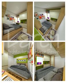 Small bedroom ideas 9 Sqm