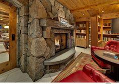 Reading room with secret passage
