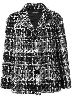 DOLCE & GABBANA tweed jacket. #dolcegabbana #cloth #jacket