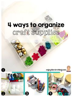 4 ways to organize craft supplies inspired by the @HewlettPackard HP x360 + Meghan Trainor! #BendTheRules #sponsored