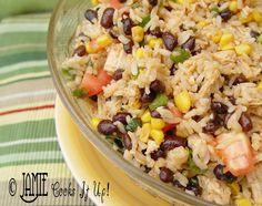 Mexican Rice Salad…super yummy!