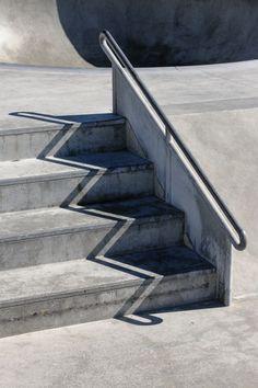 ombre graphique escaliers