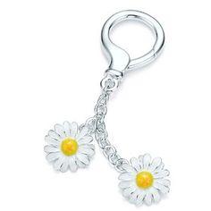 Daisy keyring