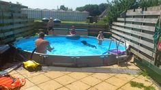 Zwemmen met de mannen