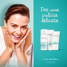 Detergenti NutraEffects delicati per il viso.