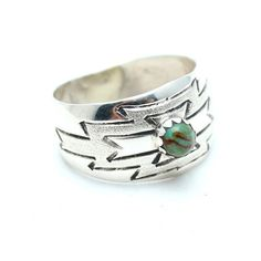 Green Fields Native American Ring, Native American Ring, Child of Wild