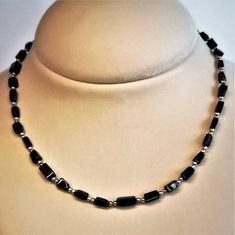Gemstone Necklace, Beaded Necklace, Necklaces, Black Onyx, Necklace Lengths, Gifts For Her, Just For You, Jewelry Making, Gemstones