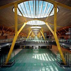 Madrid Barajas Airport, Madrid, Spain, Richard Rogers