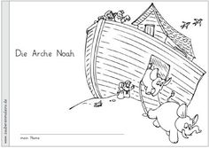 arche-noah-ausmalheftchen - Zaubereinmaleins - DesignBlog