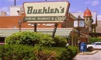 Buehlers. My husband worked at a Buehler's store when we started dating.
