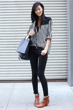 How To Street Style: MODEL OFF DUTY - STREET STYLE