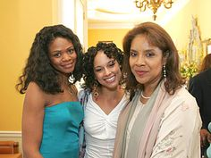 oprah winfrey legends weekend | Kimberly Elise, Alicia Keys and Phylicia Rashad. Copyright 2005, Harpo ...
