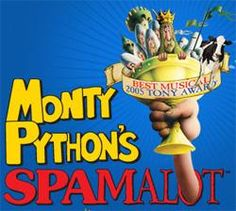 Monty Python's Spamalot  |  Peoria Civic Center |  February 2nd, 2013